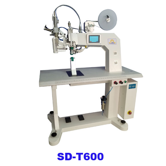 Hot air seam sealing machine for jacket