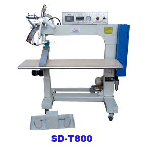 Hot air seam sealing machine for tent