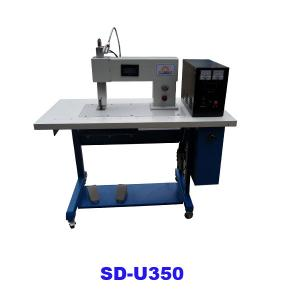 Ultrasonic jointing and cutting machine for garment