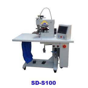 Hot air tapping and cutting machine