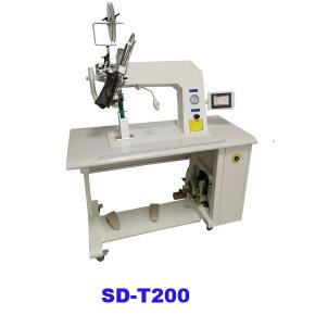 Hot air seam sealing machine for raincoat,PPE and tent