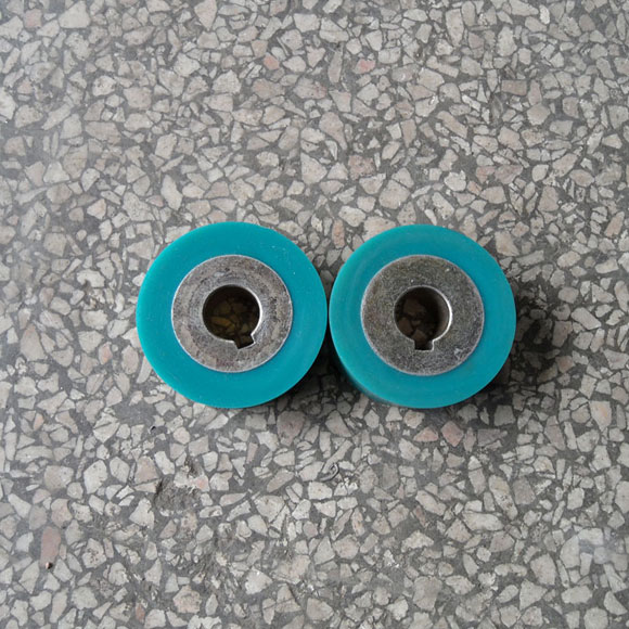Rubber roller for hot air seam sealing machine